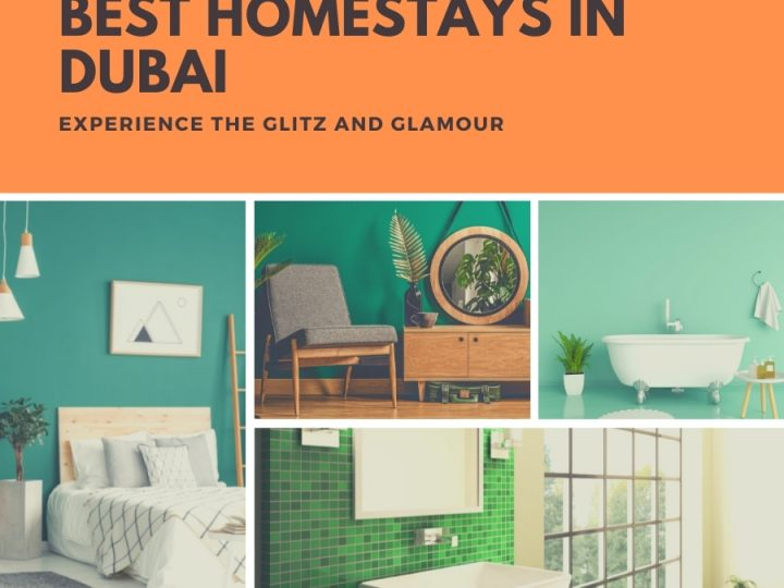 Experience the Glitz And Glamour At The Best Homestays in Dubai