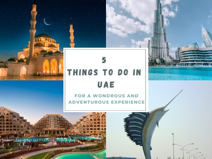 5 Things To Do in UAE for a Wondrous and Adventurous Experience